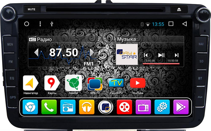 DayStar DS-7080HD для Volkswagen Universal на Android 9.0 - фото 21861