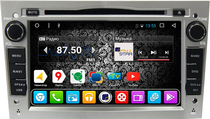 DayStar DS-7060HD для Opel Astra H 2004-2011 на Android 9.0 - фото 21980