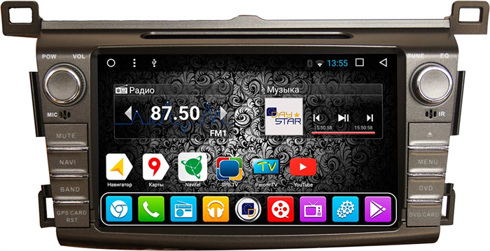 DayStar DS-7055HD для Toyota RAV4 2013+ на Android 9.0 - фото 22072