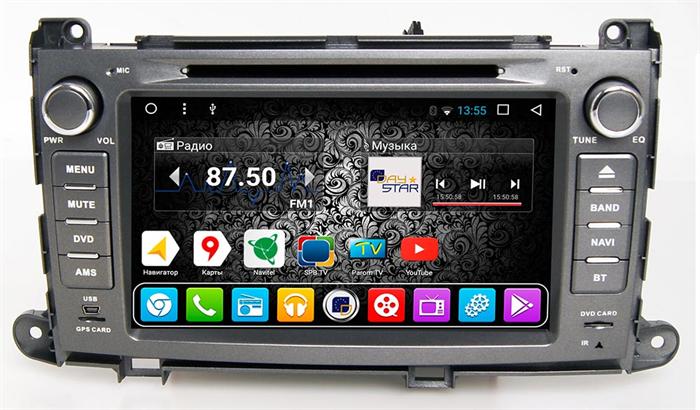 DayStar DS-8005HD для Toyota Sienna на Android 9.0 - фото 22116