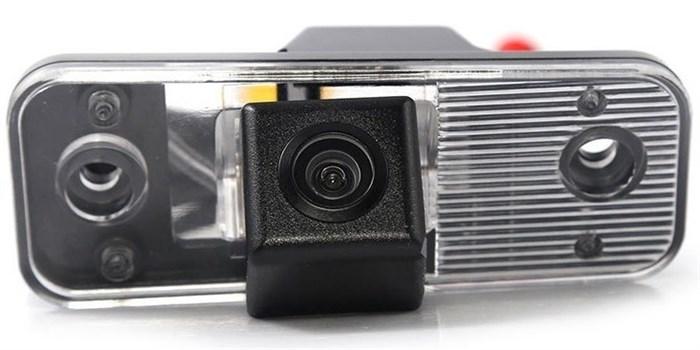 Камера заднего вида cam-022 для Hyundai Santa Fe 2006, 2007, 2008, 2009, 2010, 2011, 2012 - фото 33377
