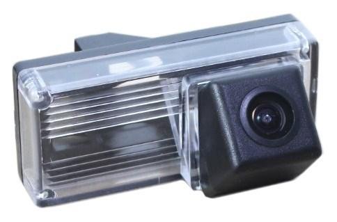 Камера заднего вида cam-004 для Toyota LC-100 (03-07), LC-200 (12+), Prado 120 (02-09) с запаской под днищем - фото 33431