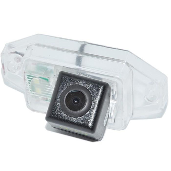 Камера заднего вида cam-007 для Toyota Prado 120 (02-07) с запаской на двери - фото 33435