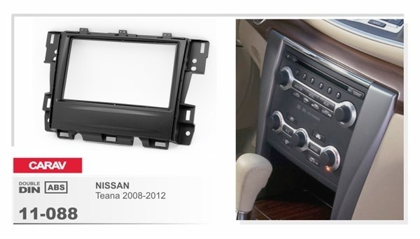 Переходная рамка CARAV 11-088/Intro RNS-N06 (Nissan Teana 2008+) - фото 33509