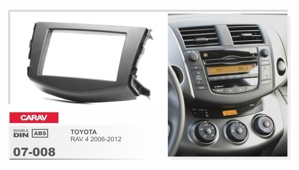 Переходная рамка CARAV 07-008 (Toyota RAV 4 2006+) - фото 33515