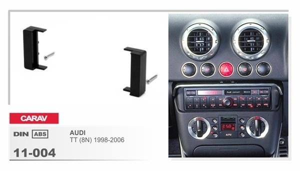 Переходная рамка CARAV 11-004 (Audi TT 1998-2003,A2,A4 1999-2000) - фото 33522