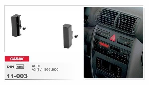 Переходная рамка CARAV 11-003 (Audi A3 1996-2000) - фото 33523