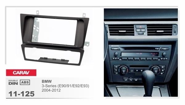 Переходная рамка CARAV 11-125 (BMW 3-Series(E90/Е91/Е92/Е93) 2004+) - фото 33534