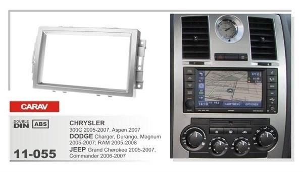 Переходная рамка CARAV 11-055 (Chrysler 300C 2005-2007, Aspen 2007, Dodge Charger,Magnum,Durango 2005-2007, JEEP Grand Cherokee 2005-2007, Commander 2006-2007) - фото 33554