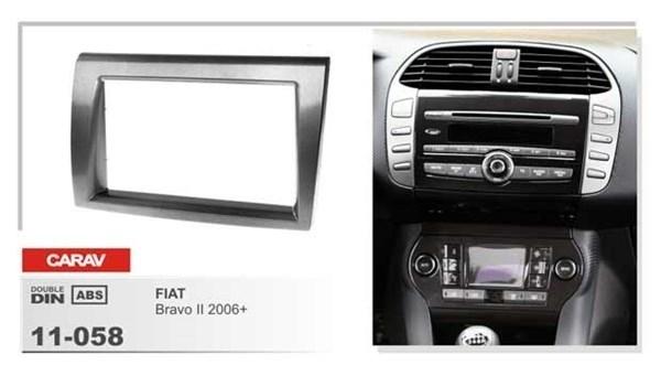 Переходная рамка CARAV 11-058 (Fiat Bravo 2 2006+) - фото 33556