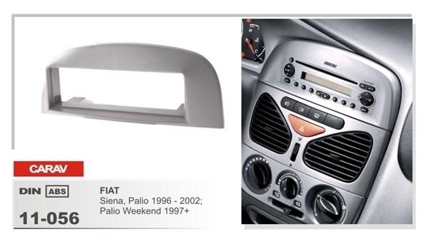 Переходная рамка CARAV 11-056 (Fiat Siena,Palio 1996-2002, Palio Weekend 1997+) - фото 33558