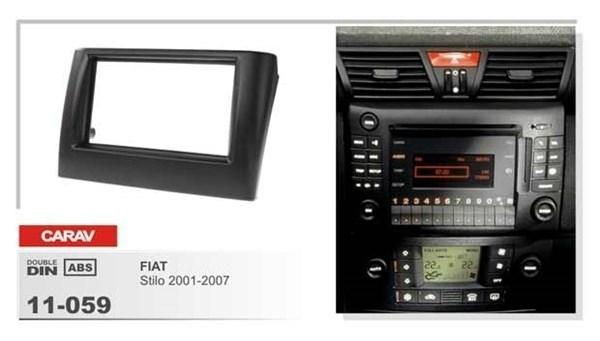 Переходная рамка CARAV 11-059 (Fiat Stilo 2001-2007) - фото 33560