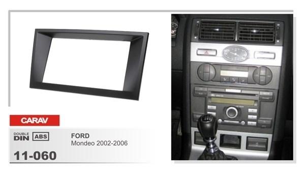 Переходная рамка CARAV 11-060/Intro RFO-N09 (Ford Mondeo 2002-2006) - фото 33573