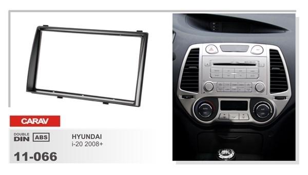 Переходная рамка CARAV 11-066 (Hyundai i20 2008+) - фото 33596