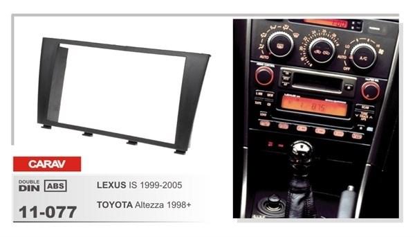 Переходная рамка CARAV 11-077 (LEXUS IS 1999-2005, TOYOTA Altezza 1998+) - фото 33638