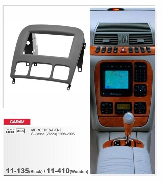 Переходная рамка CARAV 11-135 (Mercedes-Benz S (W220) 1998-2005) - фото 33664