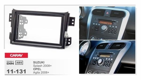 Переходная рамка CARAV 11-131 (Opel Agila 2008+ \ Suzuki Splash 2008+) - фото 33675
