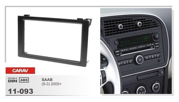 Переходная рамка CARAV 11-093 (Saab 9-3 2005+) - фото 33690