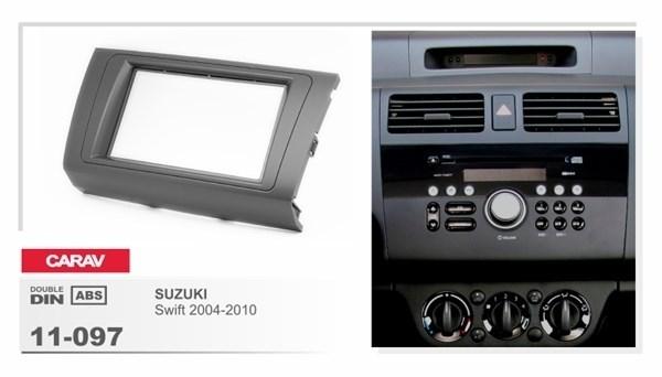 Переходная рамка CARAV 11-097 (Suzuki Swift 2004-2010) - фото 33714