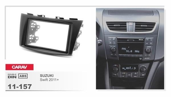 Переходная рамка CARAV 11-157/Incar RSZ-N07A (Suzuki Swift 2011+) - фото 33716