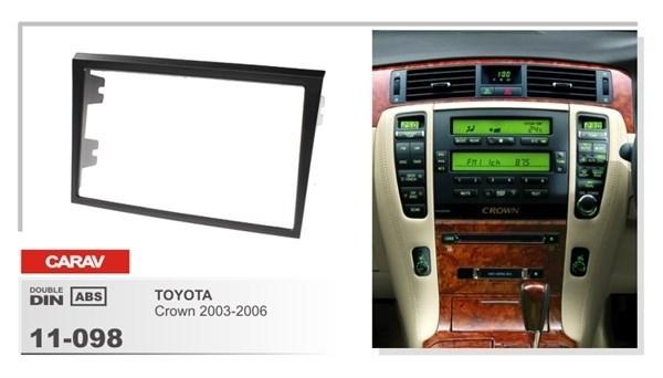 Переходная рамка CARAV 11-098 (Toyota Crown 2003-2006) - фото 33727