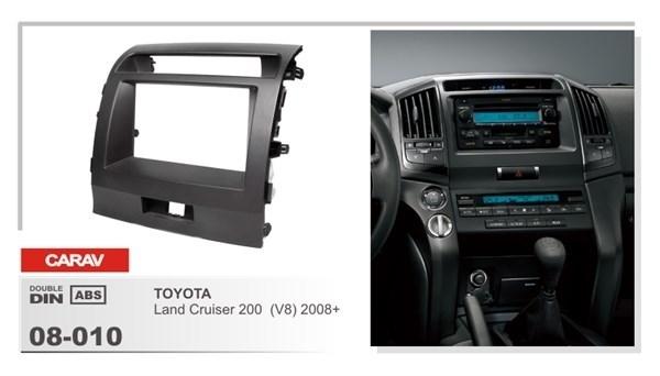 Переходная рамка CARAV 08-010 (Toyota Land Cruiser 200 v8 2008+) - фото 33731
