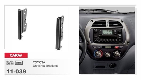 Переходная рамка CARAV 11-039 (Боковые вставки Toyota) - фото 33744