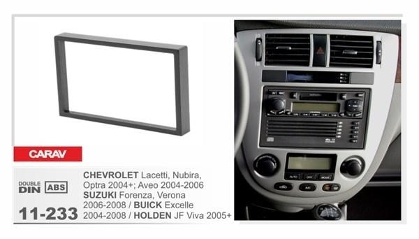 Переходная рамка CARAV 11-233/Intro 95-7951A (CHEVROLET Lacetti, Nubira, Optra 2004+ / SUZUKI Forenza 2006-2008 / BUICK Excelle 2004-2008 / HOLDEN JF Viva 2005+) - фото 33762