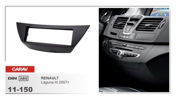 Переходная рамка CARAV 11-150/Incar RFR-N29 (Renault Laguna III 2007+) - фото 33776
