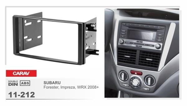 Переходная рамка CARAV 11-212/Incar 95-8902 (Subaru Impreza, Forester 2008+) - фото 33783