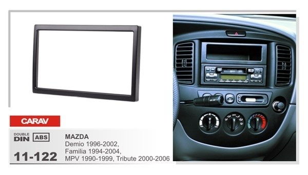 Переходная рамка CARAV 11-122/Incar RMZ-N06 (MAZDA Demio 1996-2002, Familia 1994-2004, MPV 1990-1999, Tribute 2000-2004) - фото 33788
