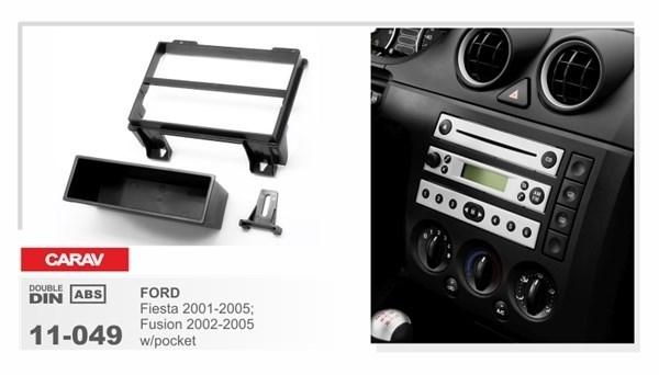 Переходная рамка CARAV 11-049/Intro RFO-N12 (FORD Fiesta 2001-2005; Fusion 2002-2005 w/pocket) - фото 33790