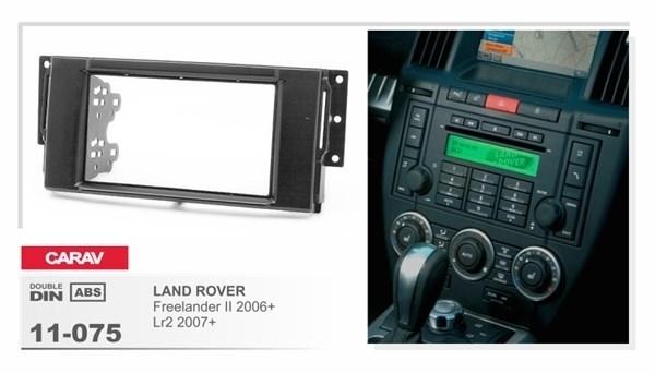 Переходная рамка CARAV 11-075/Incar RLR-N03 (LAND ROVER Freelander II 2006+, Lr 2 2007+) - фото 33792
