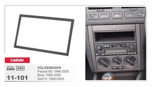 Переходная рамка CARAV 11-101/Incar RVW-N05 (VOLKSWAGEN Passat B5 1996-2005, Bora 1998-2006) - фото 33800