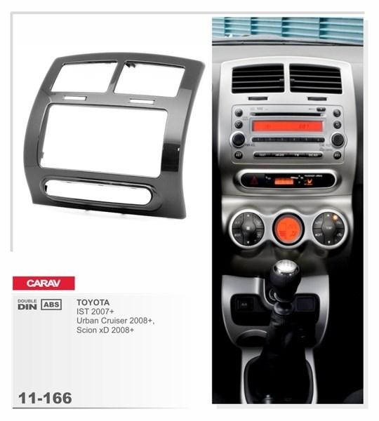 Переходная рамка CARAV 11-166 (TOYOTA IST 2007+; Urban Cruiser, Scion xD 2008+ ) - фото 33814