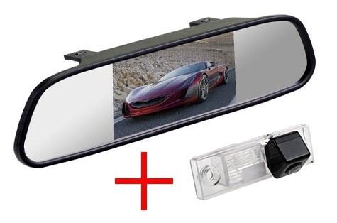 Зеркало + камера cam-044 для Chevrolet Aveo (2004-2011), Captiva (2006-), Cruze (2008-), Epica (2006-), Orlando (2010-), Lacetti, Lova - фото 35023