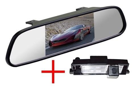 Зеркало + камера cam-003 для Toyota RAV4 (06-12), Auris 13+ / Chery Tiggo, A3 - фото 35029