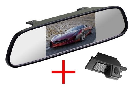 Зеркало + камера cam-024 для Opel Astra, Vectra, Zafira, Corsa, Insignia, Meriva / Chevrolet Cobalt - фото 35041