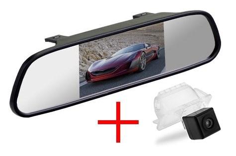 Зеркало + камера cam-014 для Ford Focus 2 хэтчбек (05-11) / Mondeo (07-14) / Kuga (08-12) / Fiesta (08-11) / S-Max (06-10) - фото 35119