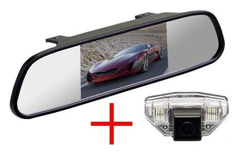 Зеркало + камера cam-052 для Honda CR-V (06-12), Fit (08-13), Odyssey (09-10), HR-V, Crosstour - фото 35131