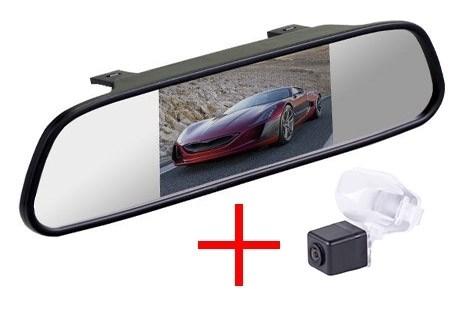 Зеркало + камера cam-051 для Honda CR-V (2012-), Civic 5D (2012-), Crosstour (2013-) - фото 35359