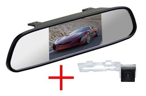 Зеркало + камера cam-088 для Geely Emgrand EC7 седан (поверх плафона подсветки) - фото 35605