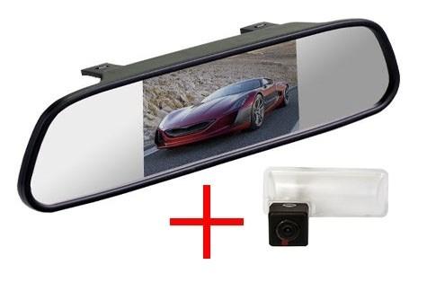Зеркало + камера cam-039 для Subaru Forester 2013+, Outback 2012+, Impreza XV - фото 35617