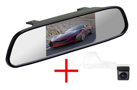 Зеркало + камера cam-085 для Ford Edge, Escape, Maverick - фото 35635