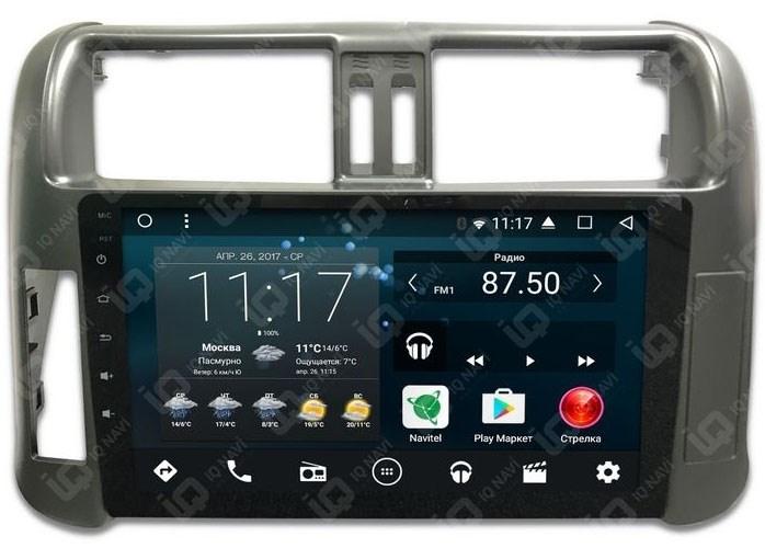 IQ NAVI T54-2911C Toyota Land Cruiser Prado 150 2009-2013 на Android 6.0.1 Quad-Core (4 ядра) 9 дюймов; - фото 45320