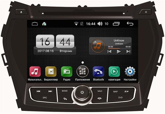 Штатная магнитола FarCar s170 для Hundai Santa Fe 2012+ на Android (L209) - фото 4533