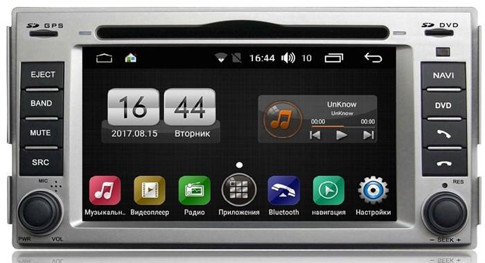 Штатная магнитола FarCar s170 для Hyundai Santa Fe 2006-2013 на Android (L008) - фото 4539