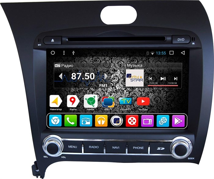 DayStar DS-7021HD для KIA Cerato 2013+ на ОС Android 9.0 - фото 5032