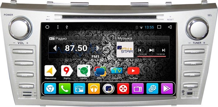 Штатное головное устройство DayStar DS-8000HD для Toyota Camry V40 Android 8.1 (8 ядер) - фото 5119