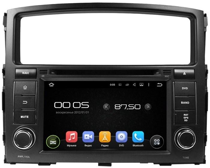 Штатное головное устройство CarMedia KD-7054 для Mitsubishi Pajero IV Android 5 - фото 5412